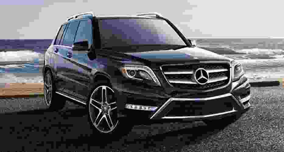 Mercedes GLK - wygrywa w kat. najmniejsza awaryjność aut 2-3 letnich