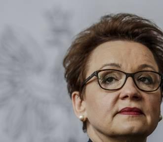 Minister Anna Zalewska wystosowała pismo w sprawie naboru do szkół na rok 2019/2020
