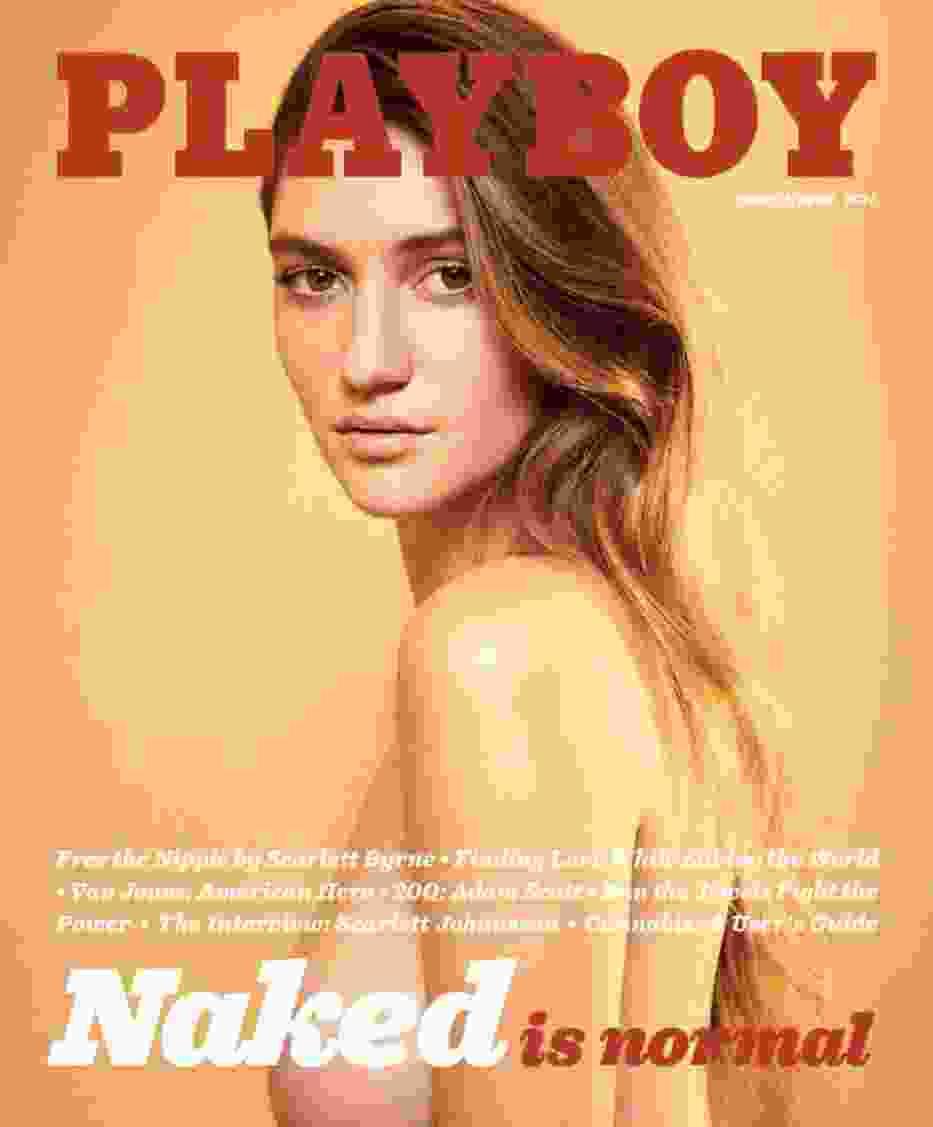 Playboy po roku wraca do nagości na okładkach! Zobaczcie nowy numer! [ZDJĘCIA]