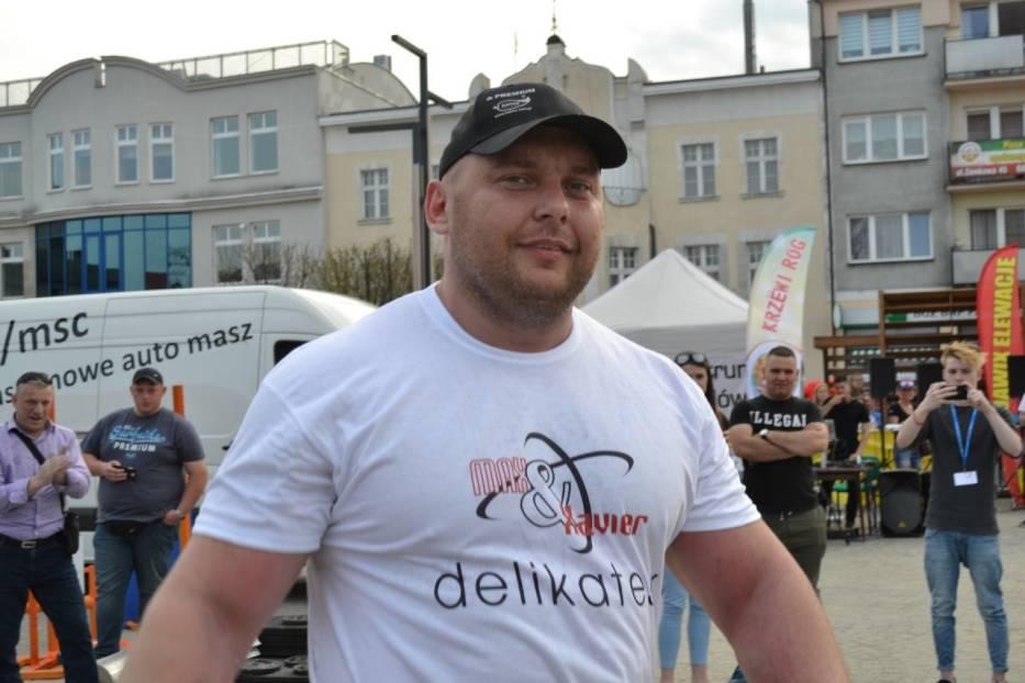 Puchar Polski Strongman w Kartuzach. Maciek Hirsz bezkonkurencyjny