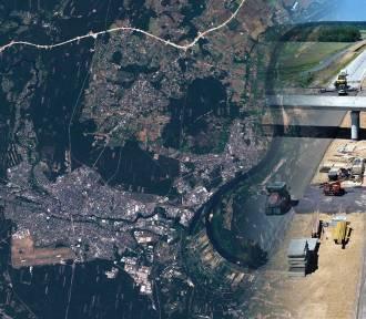 Obwodnica Bydgoszczy widziana z kosmosu [zdjęcia]