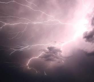 Możliwe burze z gradem oraz silny wiatr
