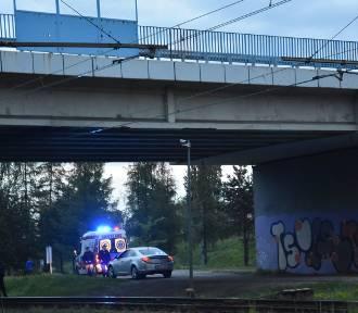 Próba samobójcza w Rybniku: 26-latek skoczył z wiaduktu przy Żorskiej. W obecności żony...