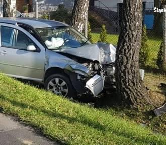 Wypadek w Jastrzębiu: poważne zderzenie BMW  z volkswagenem. ZOBACZ ZDJĘCIA