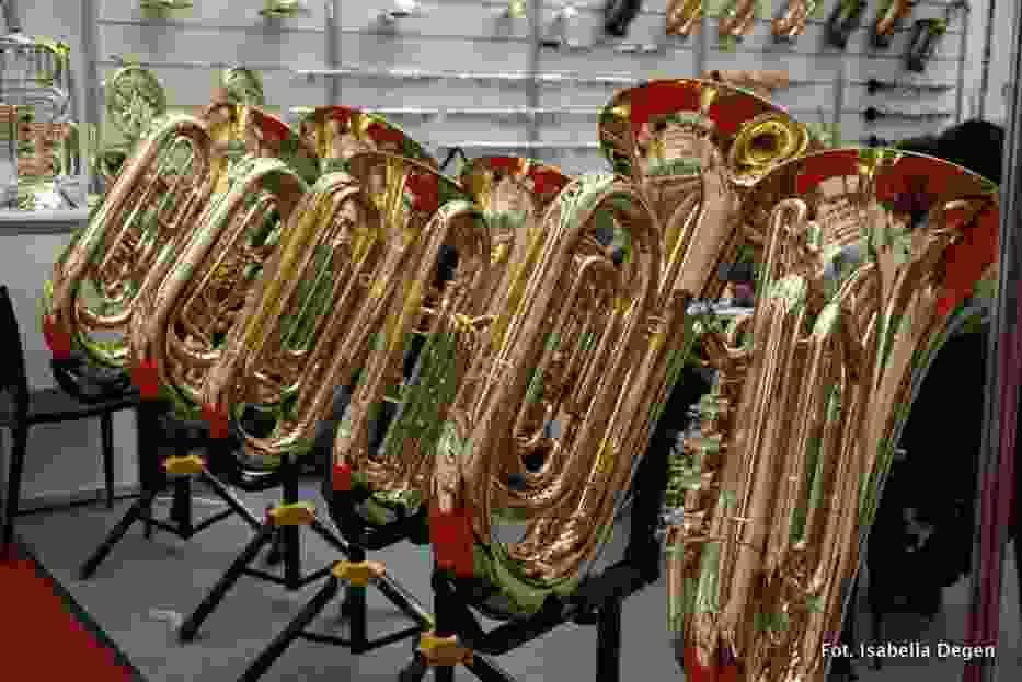 Targi muzyczne we Frankfurcie - (Musikmesse) są największymi w tej branży