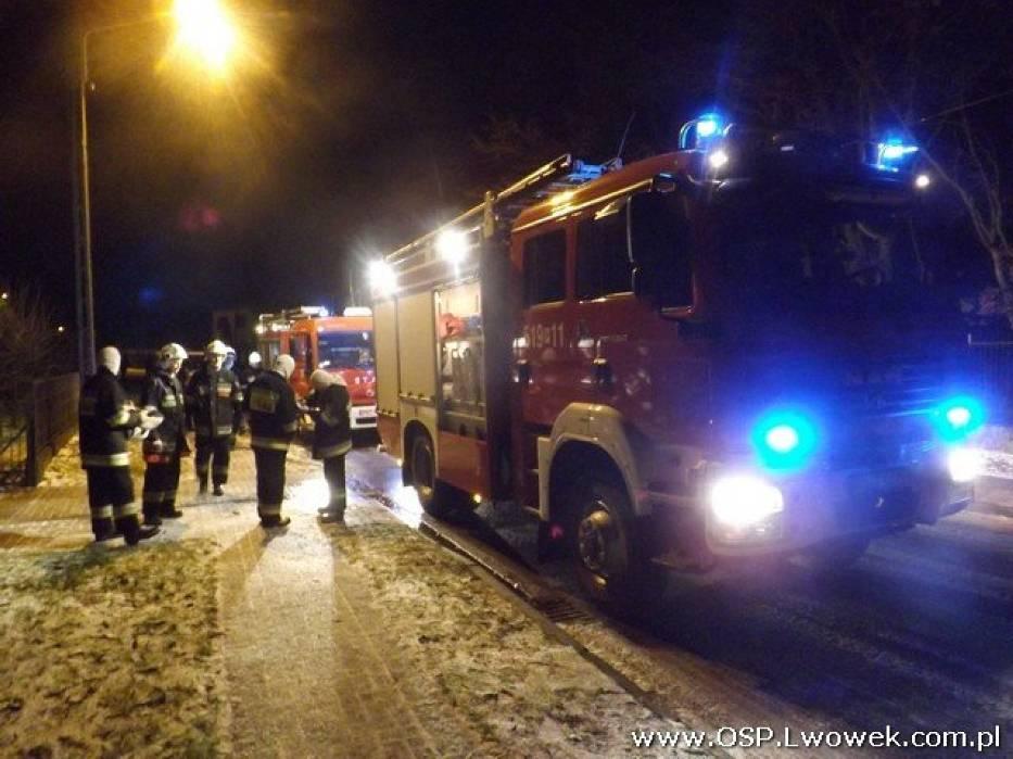 Lwówek: Pożar domu