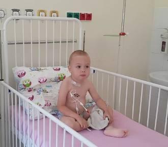 4-letni Kasper walczy z białaczką. Rodzice proszą o pomoc
