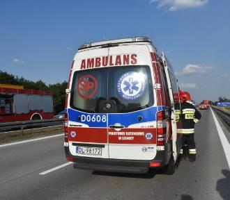 Śmiertelne potrącenie na autostradzie A2
