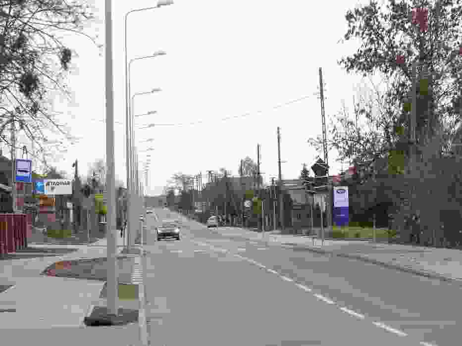 Ulica Czyżewskiego już jest dostępna dla kierowców