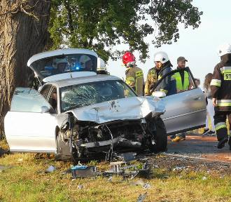 Na trasie Kwidzyn - Gardeja zderzyły się trzy samochody [ZDJĘCIA]