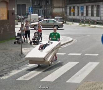 Perełki z kamer Google Street View na Dolnym Śląsku. Zobacz najdziwniejsze zdjęcia