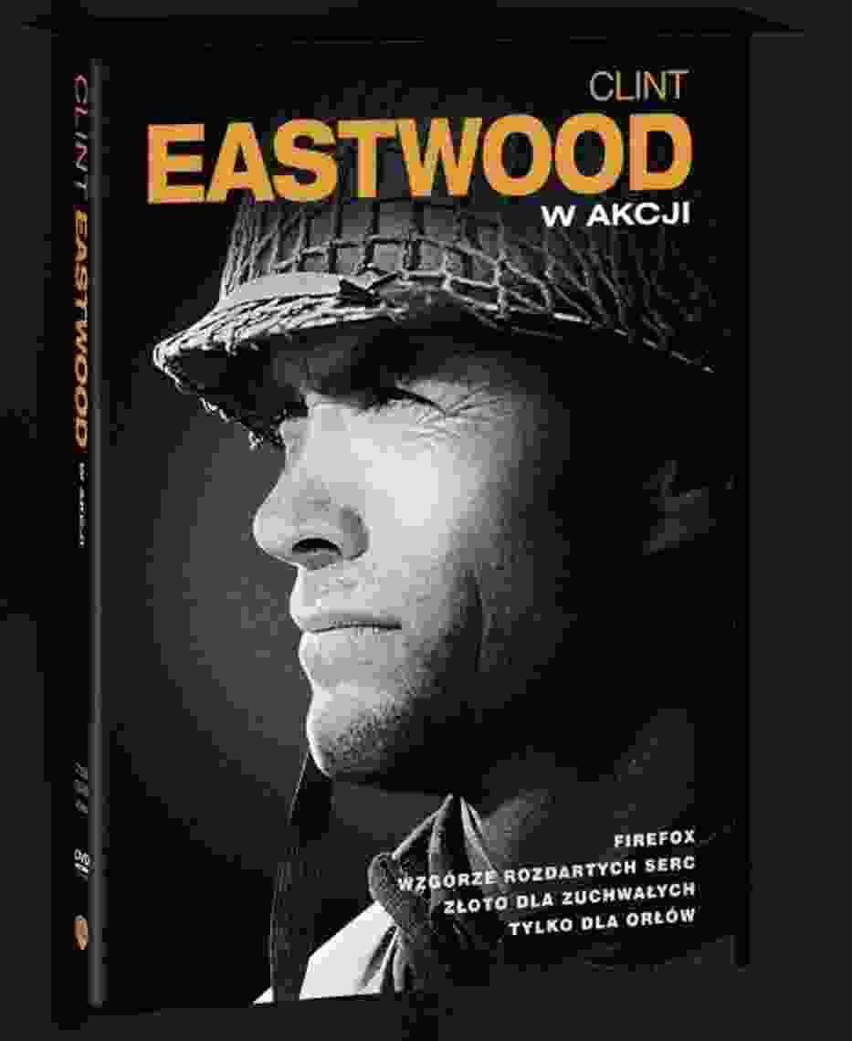 "Kolekcja DVD ""Clint Eastwood w akcji"", 4 filmy, wyd"