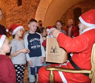 Poszukiwania św. Mikołaja na zamku w Malborku zakończyły się sukcesem