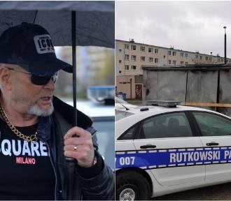 Krzysztof Rutkowski we Włocławku. Wyznaczył nagrodę za wskazanie sprawcy podpalenia