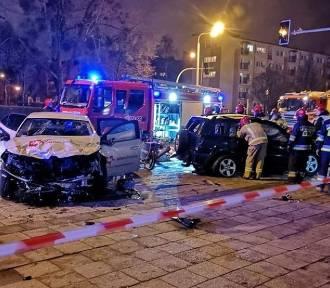Trzy osoby ranne w wypadku na Grunwaldzie