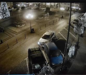 To mieszkaniec gm. Przechlewo szalał autem w centrum Chojnic [VIDEO]