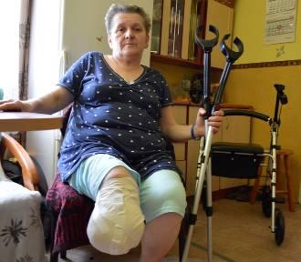 Zbieramy na protezę nogi. Nasza akcja dla pani Jadzi