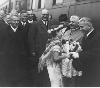 Otwarcie linii kolejowej Rybnik-Żory z 1936 roku! ZOBACZCIE ZDJĘCIA