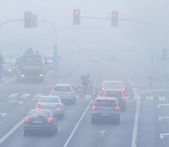 Ostrzeżenie: mgła w Łodzi i województwie łódzkim