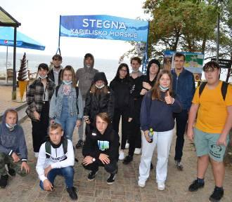 Wycieczka szkolna ósmoklasistów na Mierzeję Wiślaną