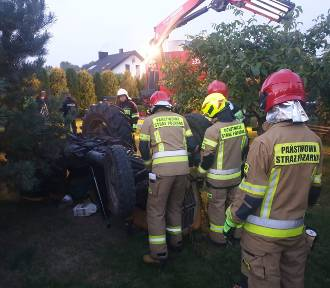 Ciągnik przygniótł rolnika. Śmiertelny wypadek w Witowie - Kolonii