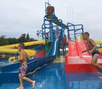 Otwarcie wodnego placu zabaw dla dzieci w Ciechocinku [wideo, zdjęcia]