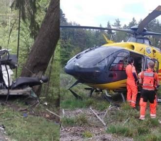 Koło Wejherowa auto uderzyło w drzewo. Nie żyje 20-latek