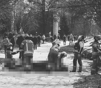 Tragedia przy ulicy Dąbrowskiego. Nie żyje mężczyzna