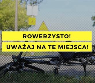 Rowerzysto, strzeż się tych miejsc w Łodzi!