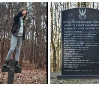 Prokuratura o sprawie skakania po grobach żołnierzy