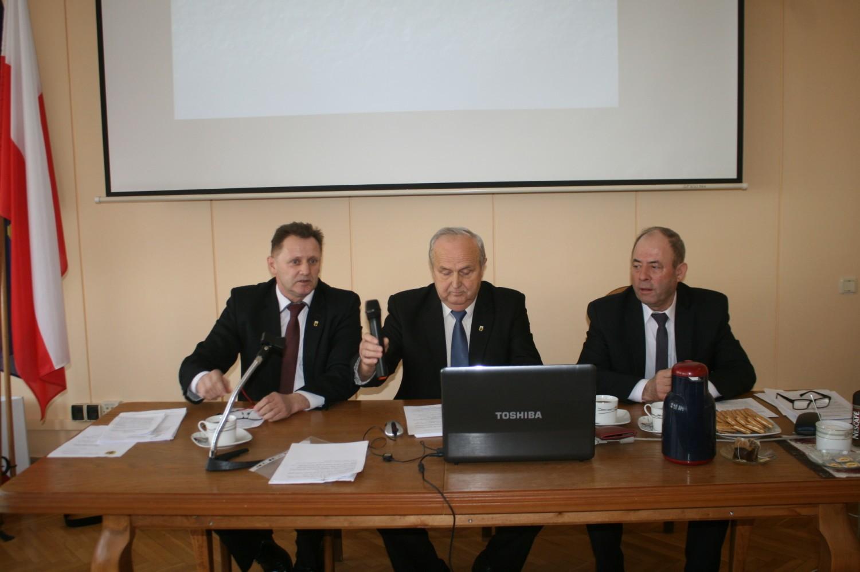 XXI sesja rady powiatu radziejowskiego