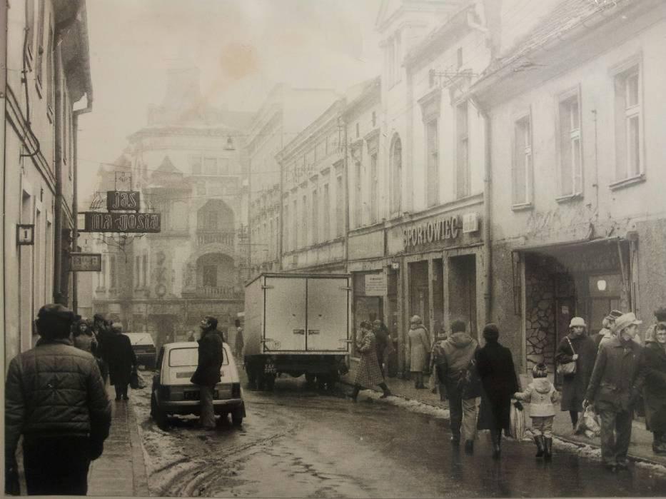 Ulica 1 Maja a ulica Jana Pawła II