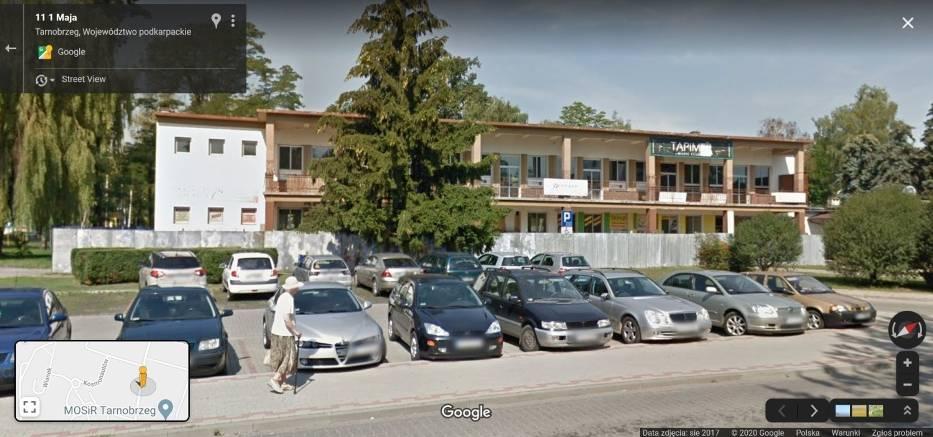 Z wykorzystaniem Google Street View - funkcji Google Maps i Google Earth, wyruszyliśmy w wirtualną podróż ulicami Tarnobrzega