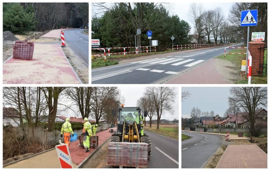 Budowa ścieżki rowerowej Zbąszyń - Strzyżewo - 16 grudnia 2019