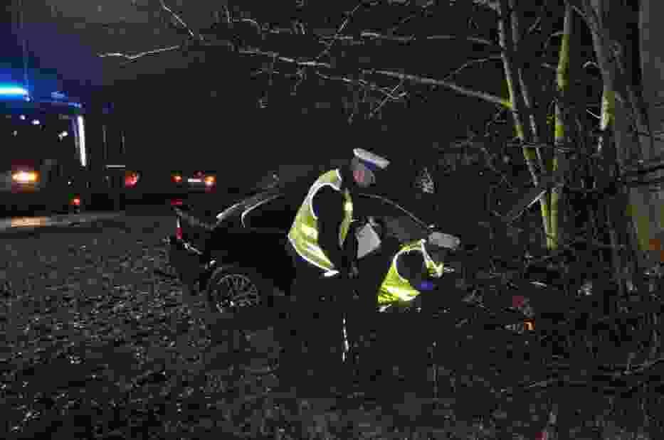 wypadek w Waćmierku