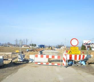 Zielona. Utrudnienia z powodu przebudowy mostu na Drwince potrwają jeszcze kilka miesięcy [ZDJECIA]