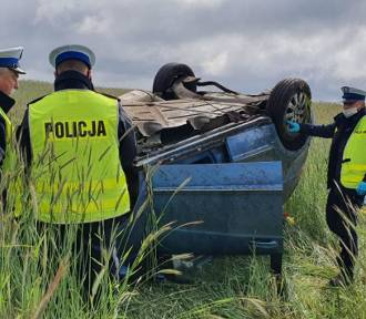 Tragiczny wypadek pod Trzemesznem. Nie żyje 28-latek