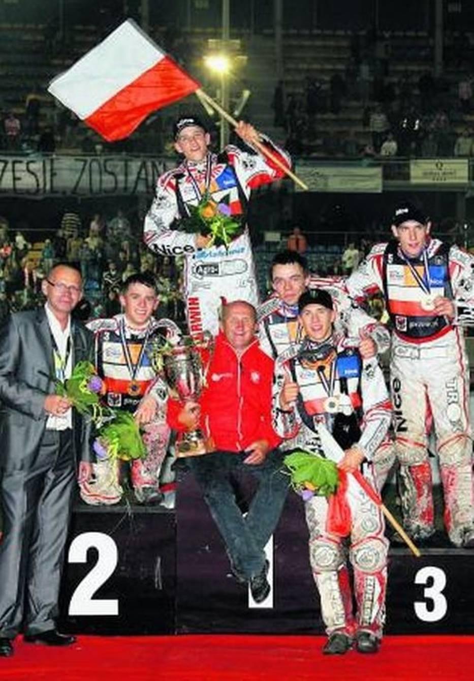 Mistrzowie świata juniorów na podium w Gorzowie