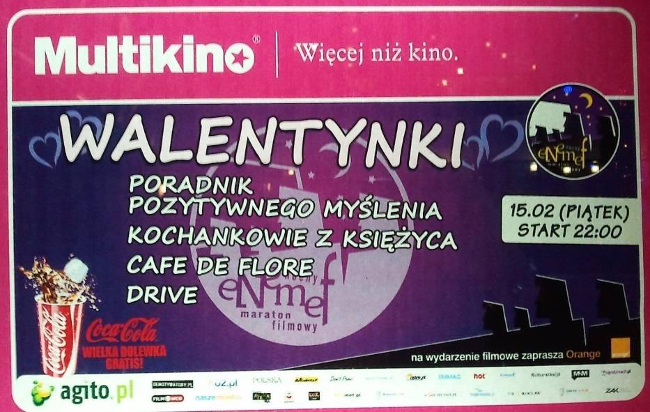 Fragment plakatu Multikina