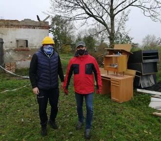W pożarze stracili dom. Mieszkańcy chcą im pomóc. Ty też możesz. Zdjęcia