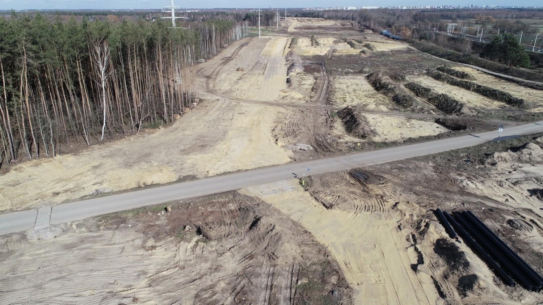 Budowa drogi ekspresowej S14 - zachodniej obwodnicy Łodzi