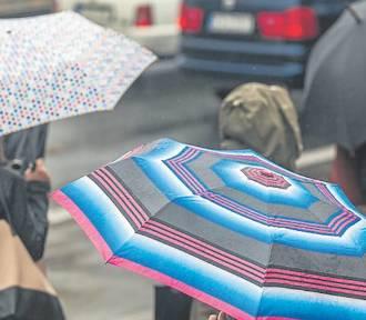 Pogoda w regionie. Będą intensywne opady deszczu połączone z wiatrem!