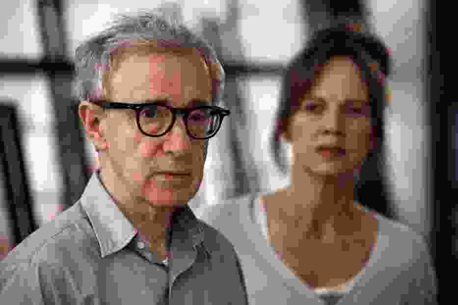 """Woody Allen na planie serialu """"Zakochani w Rzymie"""""""