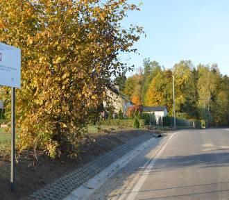 Droga z Borowca do Klukowej Huty przebudowana za niewiele ponad 1,3 mln zł