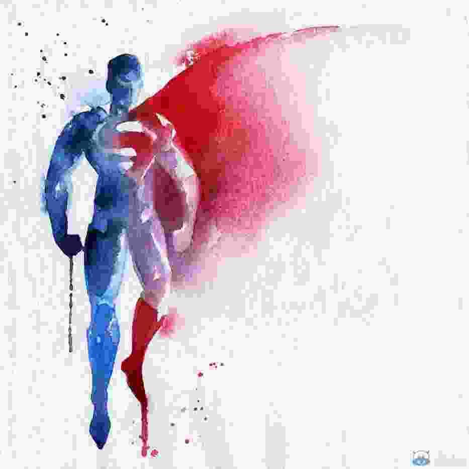 """Superbohaterowie z serii obrazów """"Colour Up Your Life"""""""