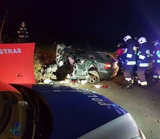 Tragiczny wypadek w Lipowcu w gminie Chmielno - nie żyje 20-letni Damian AKTUALIZACJA