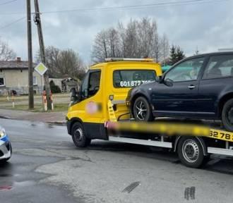 Potrącenie pieszego w Wieluniu. Mężczyzna trafił do szpitala