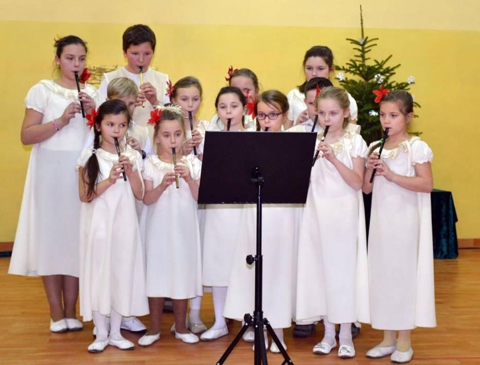 Koncert Zespołu Szkół Społecznych w Grzybowie