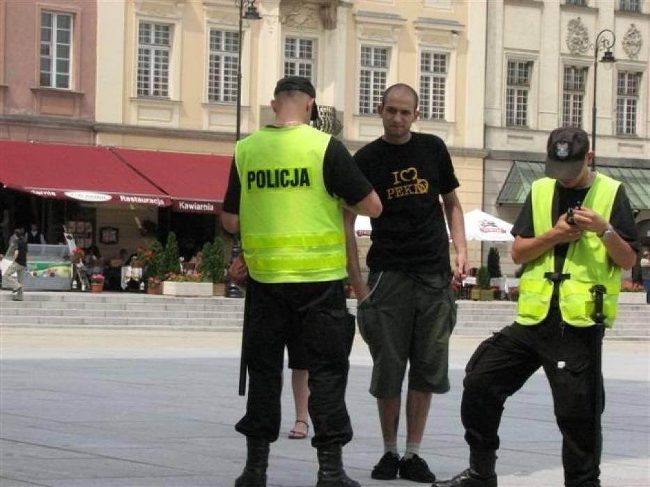 Policja czuwała nad wszystkim