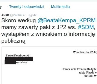 Głogowianin napisał list do rządu. Chce znać szczegóły paktu z Janem Pawłem II